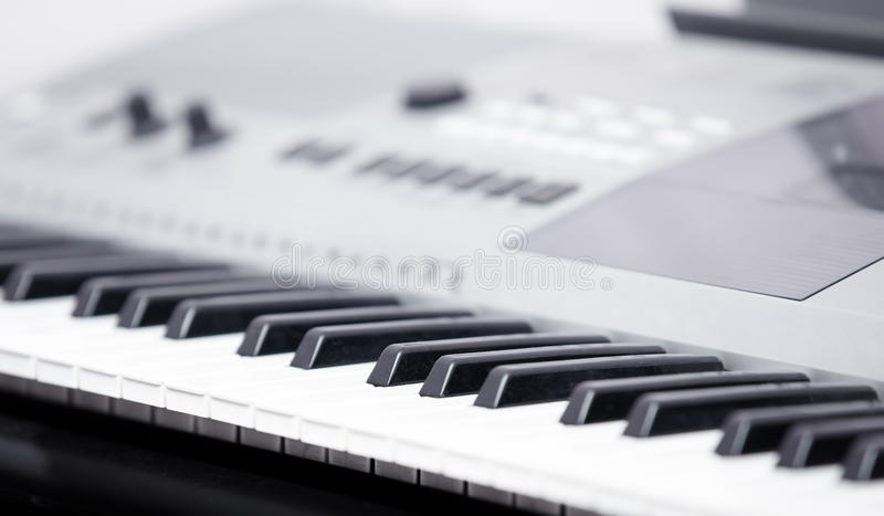 Instrument de musique électronique photo stock