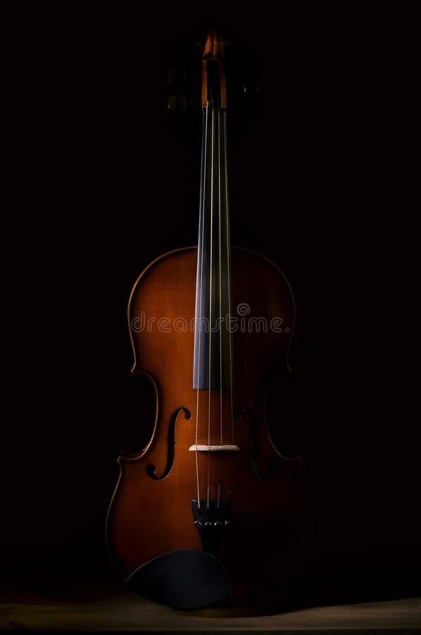 Instrument de musique de violon d'orchestre photos libres de droits