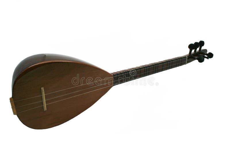 Instrument de musique folk, BaÄŸlama image stock