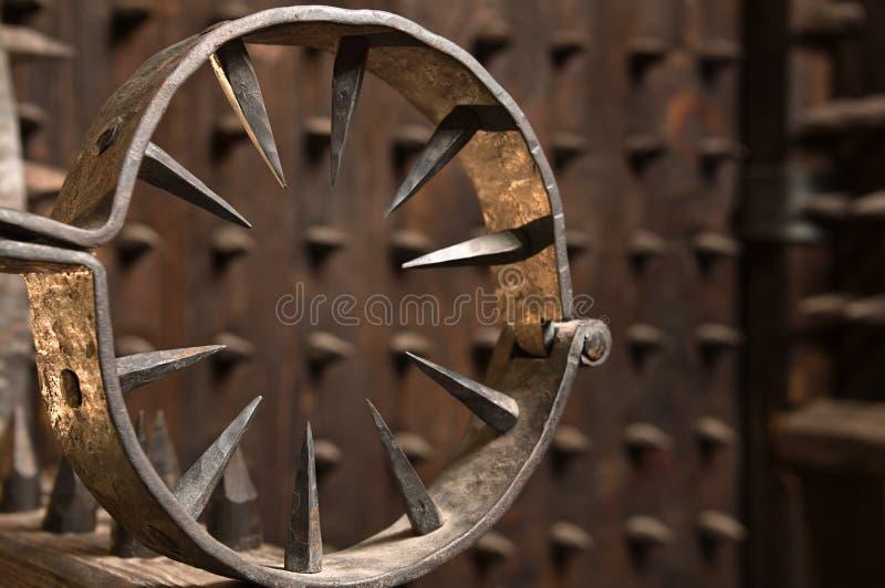 Instrument de torture. images libres de droits