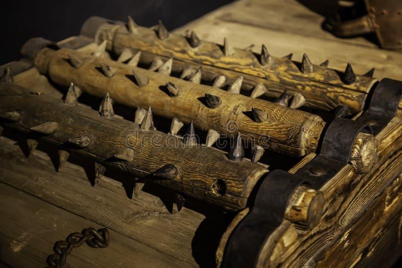 Instrument de torture médiéval photos libres de droits