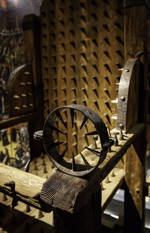 Instrument de torture médiéval photographie stock libre de droits