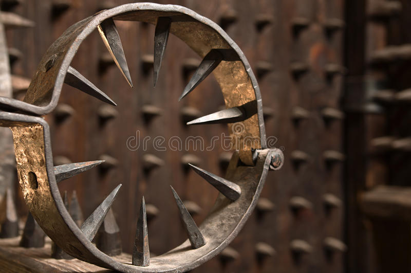 Instrument der Folterung. lizenzfreie stockbilder