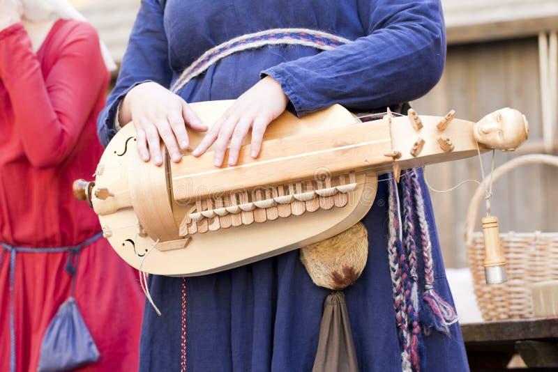 Instrument ficelé photo libre de droits