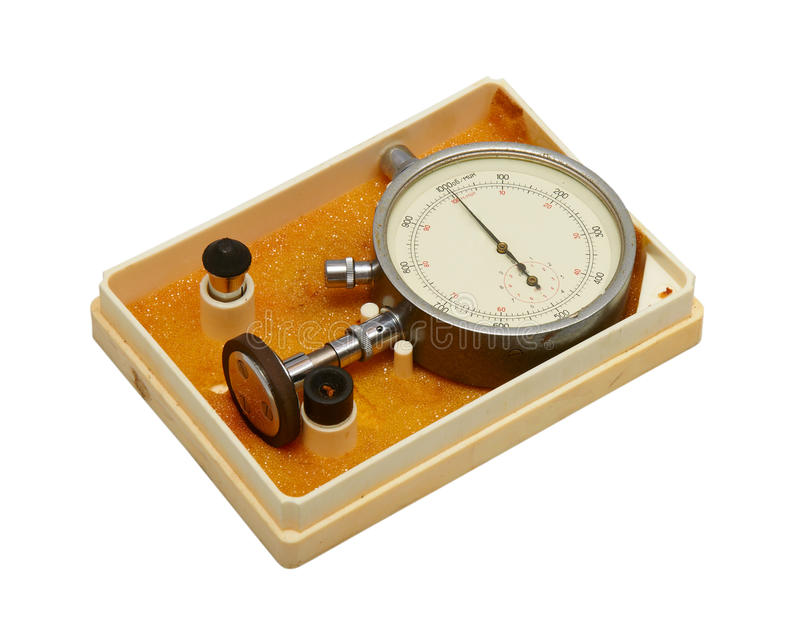 Instrument for measuring speed