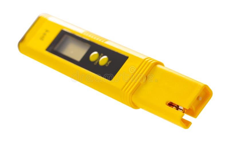Instrument pour l'acidité de mesure photographie stock