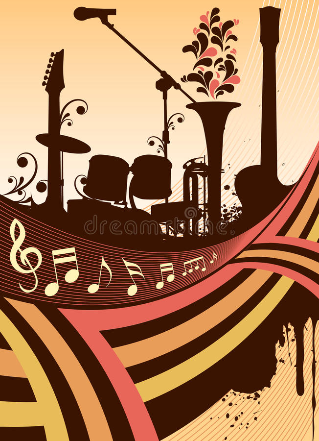 Download Instrument Silhouette Royalty Free Stock Photo - Image: 10620125
