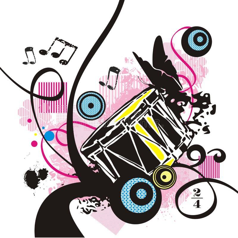 instrument szereg muzyki ilustracja wektor