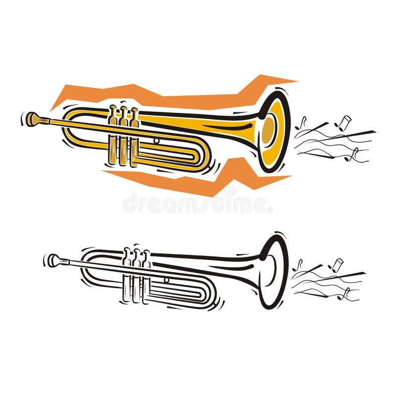 instrument szereg muzyki ilustracji