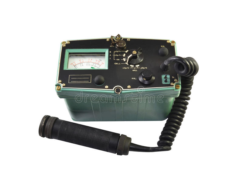 Instrument used for measuring ionizing radiation stock images