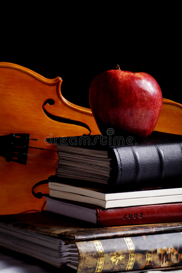 Download Instrumental italian stock photo. Image of musical, books - 2543146