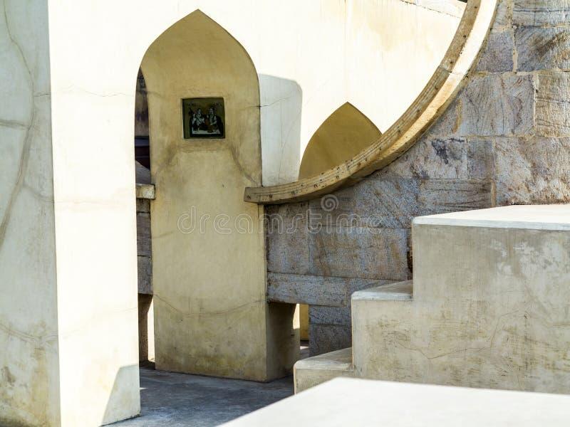 Download Instrumento Astronómico En Jantar Mantar En Jaipur Imagen de archivo - Imagen de antiguo, horizontal: 41912399