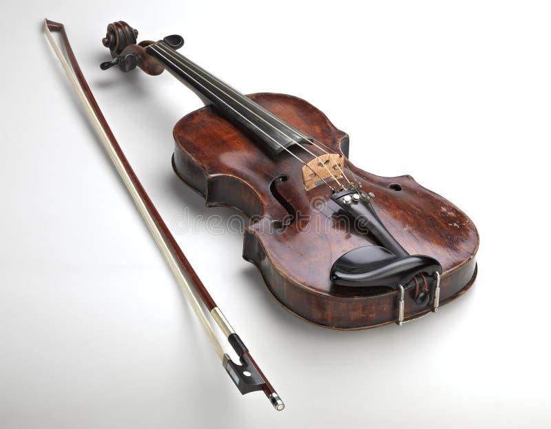 Instrumento clásico del violín fotografía de archivo libre de regalías