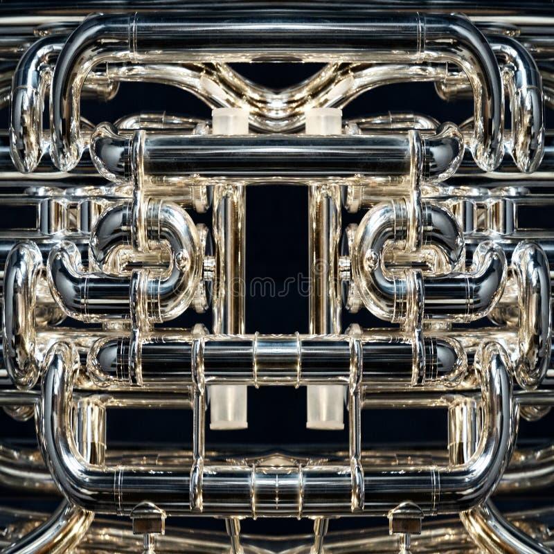 Instrumento de bronze foto de stock