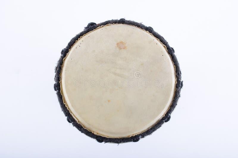 Instrumento de música del ritmo del tambor de Djembe imagen de archivo libre de regalías