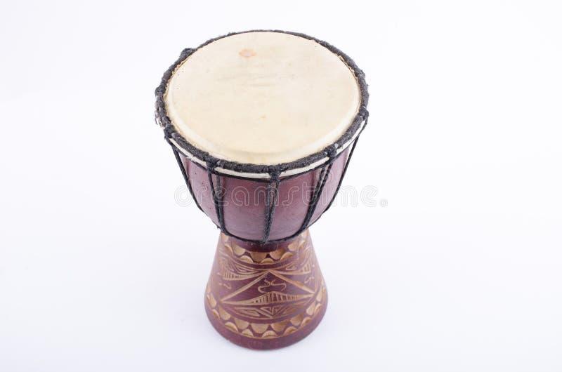 Instrumento de música del ritmo del tambor de Djembe foto de archivo libre de regalías