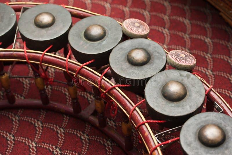 Instrumento de música tailandês foto de stock royalty free