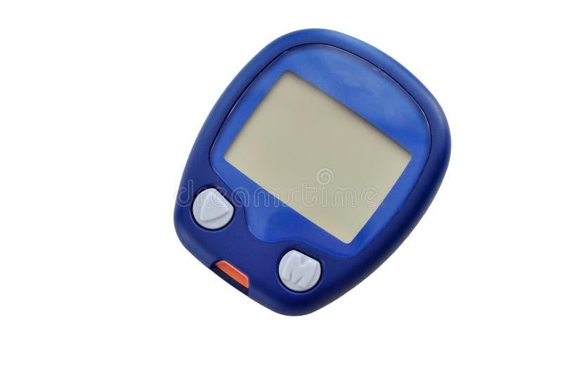 Instrumento de medida de la glucosa foto de archivo libre de regalías
