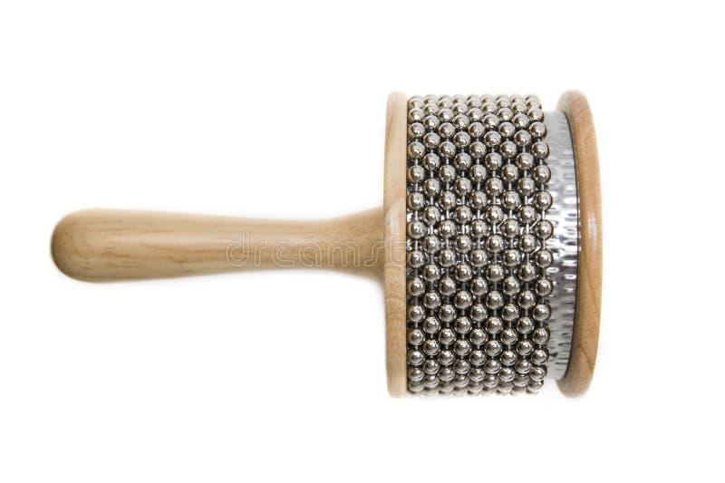 Instrumento de percussão de Cabasa imagem de stock