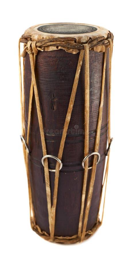 Instrumento de percussão do Conga fotografia de stock royalty free