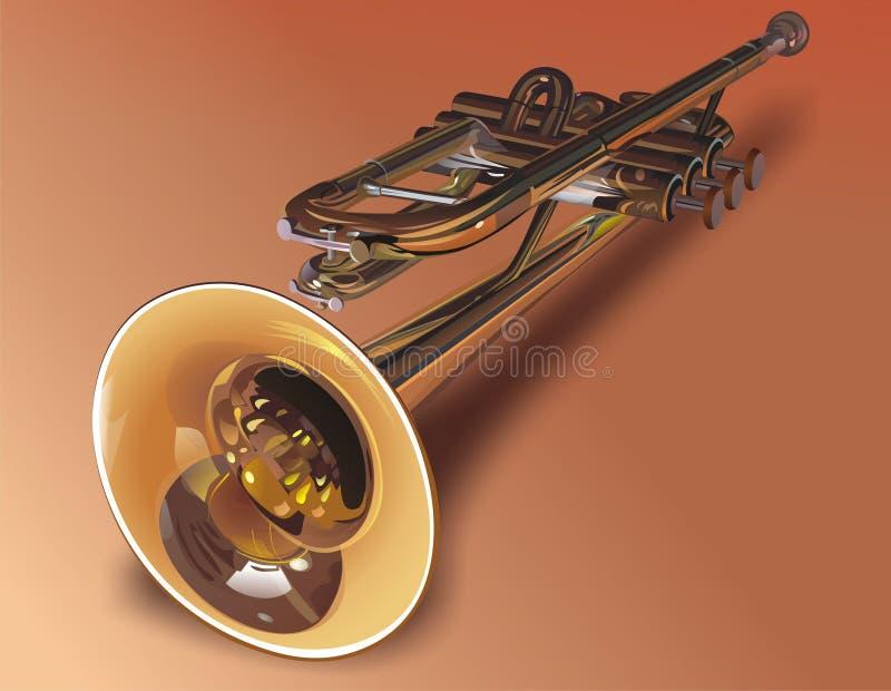 Instrumento de viento - el tubo, libre illustration