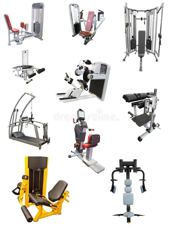 Instrumento do Gym foto de stock