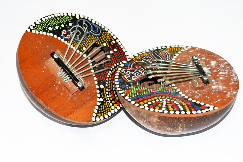 Instrumento jamaicano de Bali fotos de stock royalty free