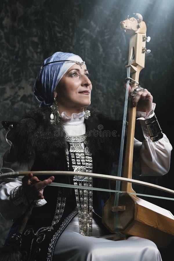 Instrumento musical antigo imagens de stock