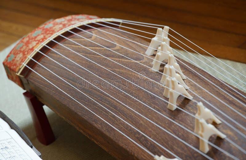 Instrumento musical japonês fotos de stock