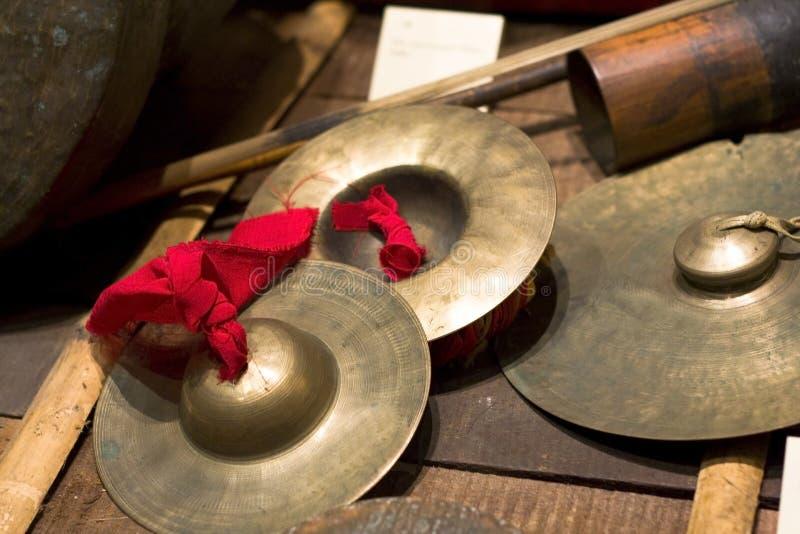 Instrumento musical tradicional chino fotografía de archivo libre de regalías