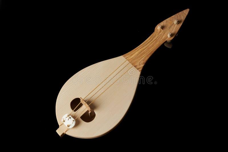 Instrumento musical tradicional griego, lyra de Thrakian fotos de archivo