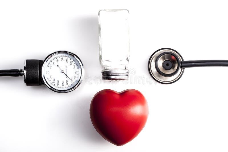 Instrumento para el corazón fotografía de archivo libre de regalías