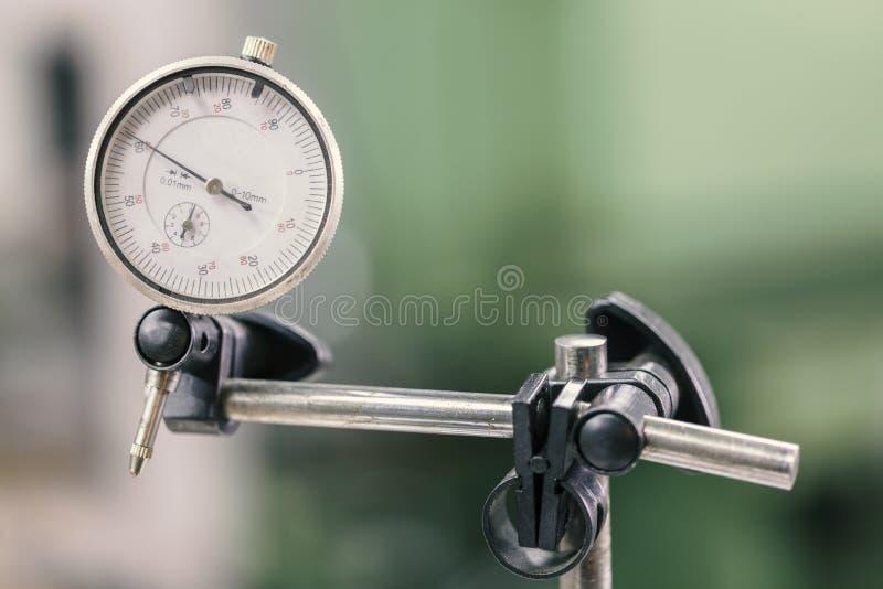 Instrumento para la medida exacta, micrómetro foto de archivo libre de regalías