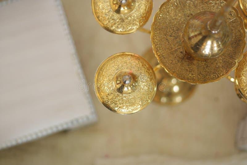 Instrumento perfumado de la boda del agua fotografía de archivo libre de regalías