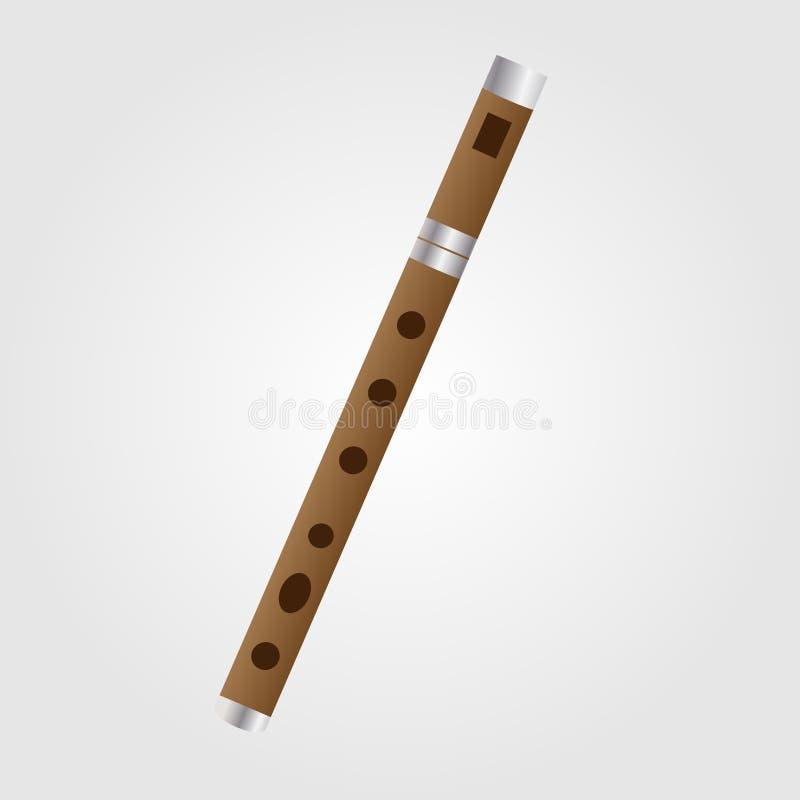 Instrumento tradicional servio de Frula imagen de archivo libre de regalías