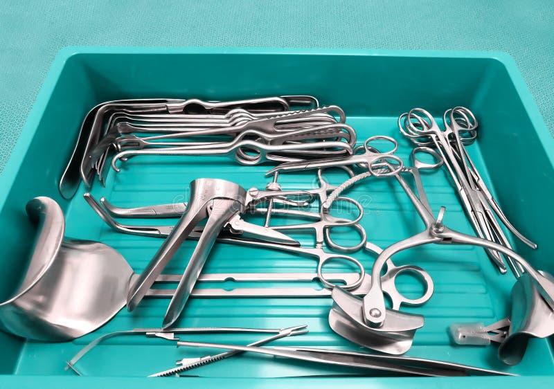 Instrumentos cirúrgicos médicos foto de stock royalty free