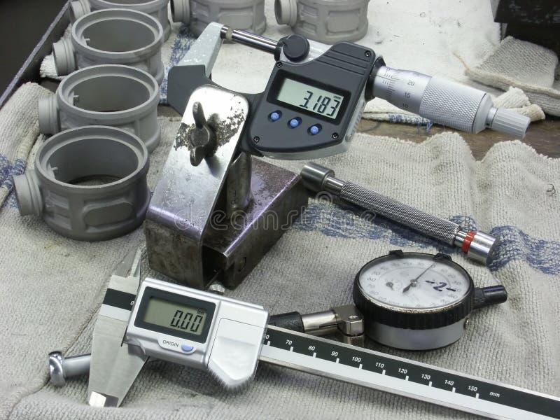 Instrumentos de medida foto de archivo