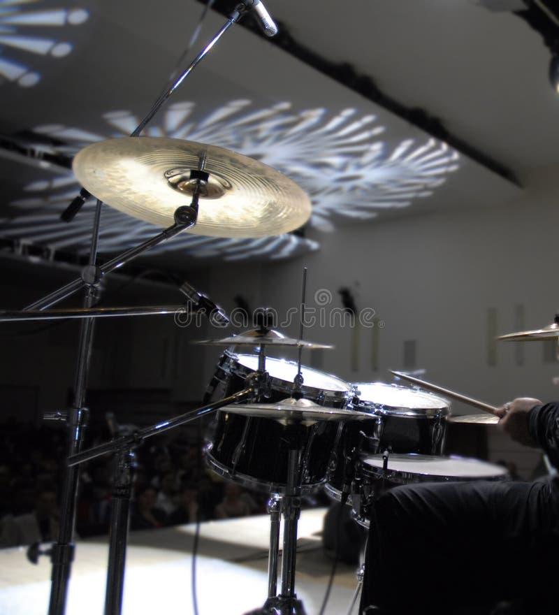 Instrumentos de percussão fotografia de stock royalty free