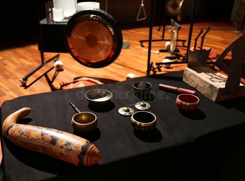 Instrumentos rituais fotografia de stock royalty free
