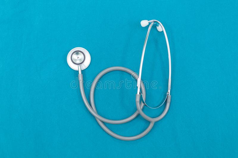 Instruments Of an Anesthesiologist. On Opareting Room royalty free stock photography