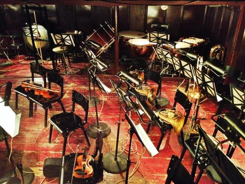 Instruments d'orchestre photos libres de droits
