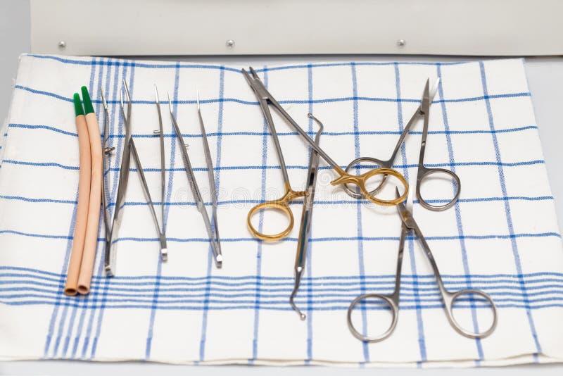 Instruments de Dentist's photos stock