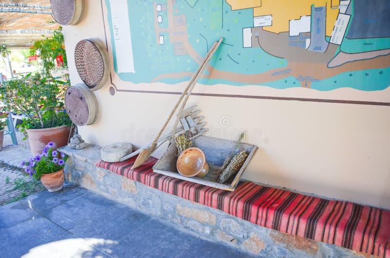 Instruments de parc de zoo de Lasinthos Eco photographie stock libre de droits