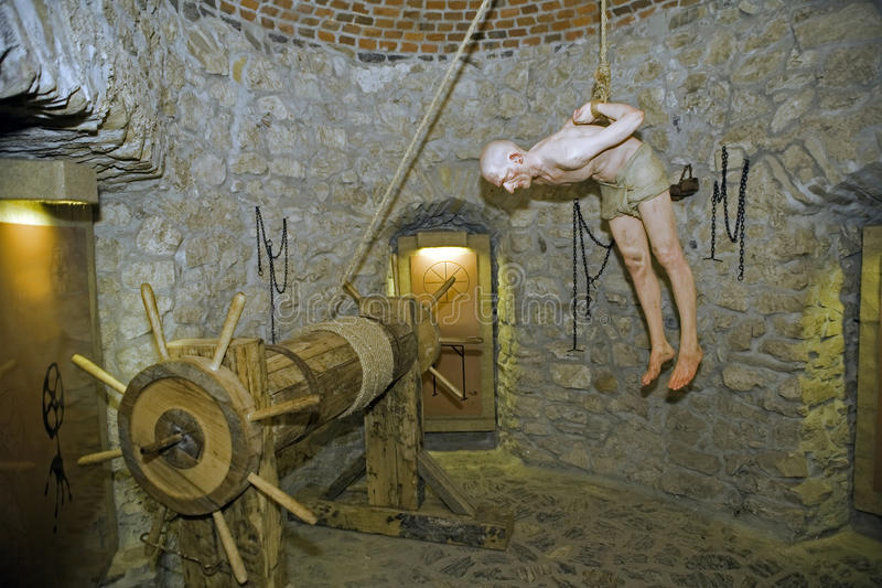 Instruments de torture photos stock