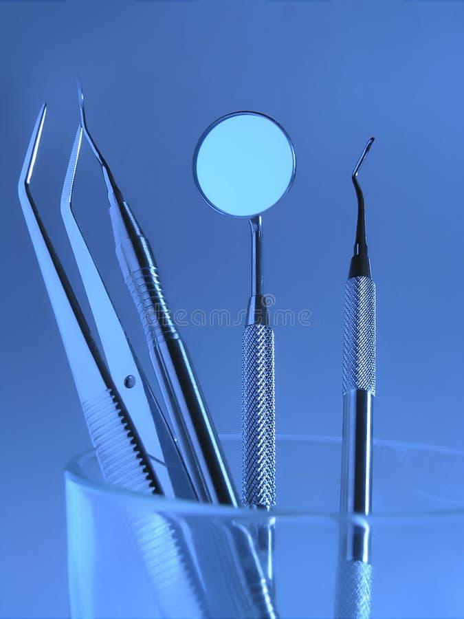 Instruments dentaires photo libre de droits
