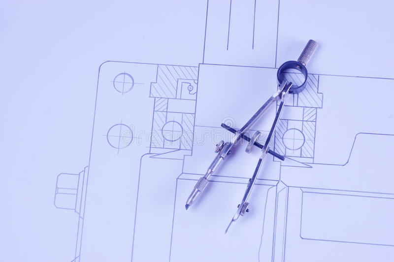 Download Instruments For Drawing Royalty Free Stock Image - Image: 11999786