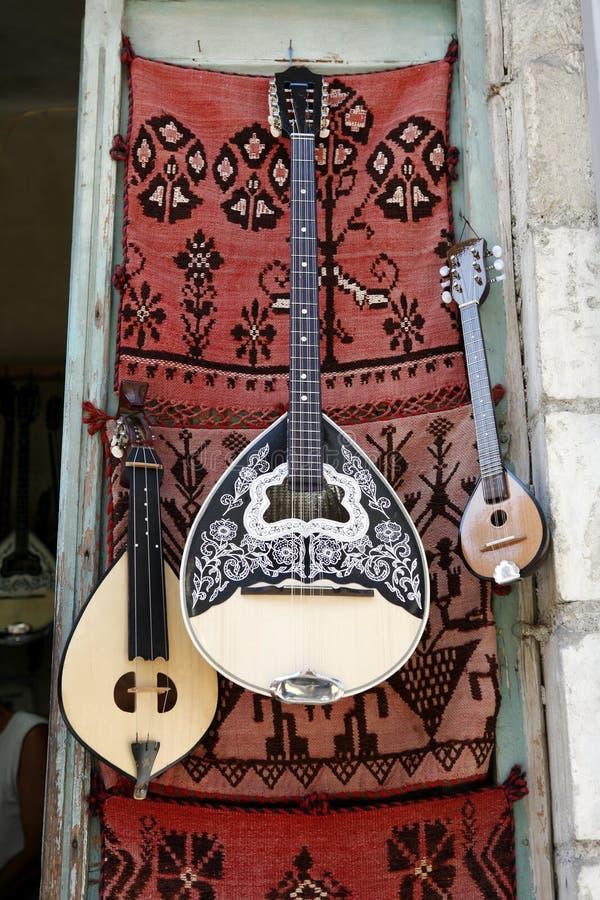 Instruments grecs photos libres de droits