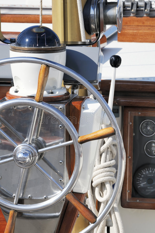 Instruments nautiques image libre de droits