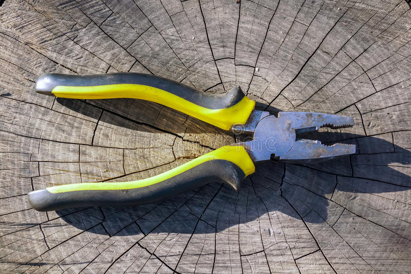 Instruments.Pliers. royalty free stock images