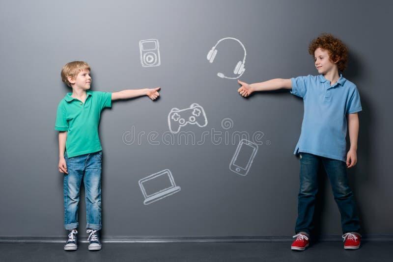 Instruments que les garçons aiment photographie stock libre de droits